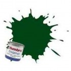 Tinta Humbrol - DARK GREEN SATIN 14ML- Nº 195
