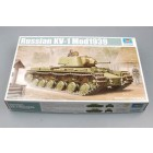 Tanque KV-1 1939 Russo - Trumpeter