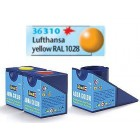 Tinta Revell para plastimodelismo - Aqua Color - Solúvel em água - Amarelo seda - 18ml - Num. 310