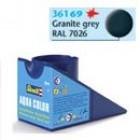 Tinta Revell para plastimodelismo - Aqua Color - Solúvel em água - granite grey mat - 18ml - Num. 69