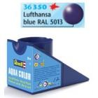 Tinta Revell para plastimodelismo - Aqua Color - Solúvel em água - Azul escuro - 18ml - Num. 350