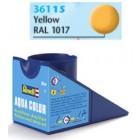 Tinta Revell para plastimodelismo - Yellow mat RAL 1017 - 18ml - Num. 15