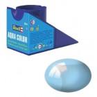 Tinta Revell para plastimodelismo - Aqua Color - Solúvel em água - Azul claro