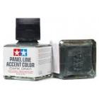 Panel Line Accent Color Dark Gray - Delineamento cinza escuro Tamiya - 40 ml
