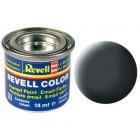Tinta Revell para plastimodelismo - Esmalte sintético - Dust grey mat - 14ml - Num. 77