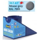 Tinta Revell para plastimodelismo - Aqua Color - Solúvel em água - mouse grey mat - 18ml - Num. 47