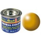 Tinta Revell para plastimodelismo - Amarelo Lufthansa silk - 14ml - Num. 310