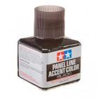 Panel Line Accent Color - Delineamento preto Tamiya - 40 ml