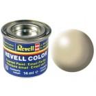 Tinta Revell para plastimodelismo - Esmalte sintético - Bege silk - 14ml - Num. 314