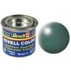 Tinta Revell para plastimodelismo - Esmalte sintético - Leaf green silk - Num.364