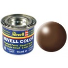 Tinta Revell para plastimodelismo - Esmalte sintético - Brown silk - 381