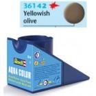 Tinta Revell para plastimodelismo - Aqua Color - Solúvel em água - Olive yellow - 18ml - num. 42
