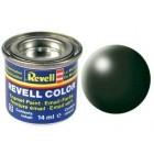 Tinta Revell para plastimodelismo - Dark green silk - 14ml - Num. 363