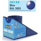 Tinta Revell para plastimodelismo - Aqua Color - Solúvel em água - blue gloss RAL 5005 - 18ml - Num. 52