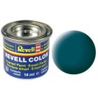 Tinta Revell para plastimodelismo - sea green mat RAL 6028 - 14ml - Num. 48