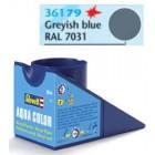 Tinta Revell para plastimodelismo - Aqua Color - Solúvel em água - Cinza azulado - 18ml - Num. 79