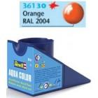 Tinta Revell para plastimodelismo - Aqua Color - Solúvel em água - Laranja gloss - 18ml - Num. 30