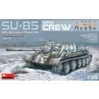Su85 Mod 1943 Early Prod. Tank w/5 Crew - MiniArt
