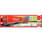Fruehauf Van FB Beaded Panel Trailer (Coca Cola) - 1/25