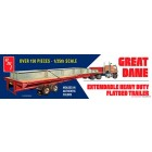 Great Dane Extendable Flat Bed Trailer - 1/25