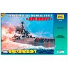 WWII British battleship HMS Dreadnought- 1/350