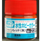 Tinta Mr.Hobby Aqueous Vermelho Claro H23 - Gunze Mr. Hobby