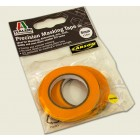 Fita semiadesiva para máscara de pintura (Masking Tape) - 6 mm X 18m (2 rolos)