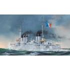 French Navy Pre-Dreadnought Battleship Condorcet - 1/350
