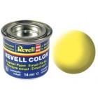 Tinta Revell para plastimodelismo - Esmalte sintético - yellow mat  Num. 15