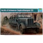 German Sd.Kfz. 8 12 ton heavy halftrack - 1/35