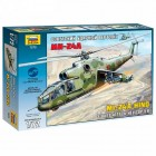 Soviet attack helicopter MI-24A Hind - 1/72